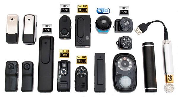 Скрытые камеры, шпионские камеры